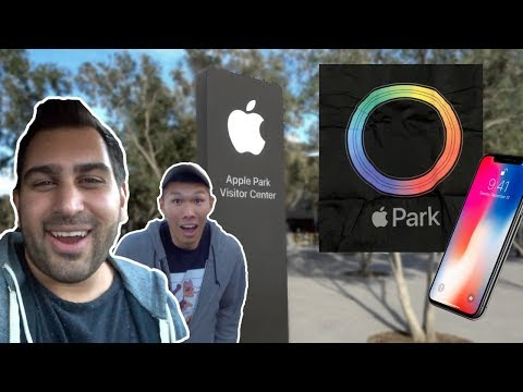 VISITING APPLE PARK CAMPUS VISITOR CENTER!