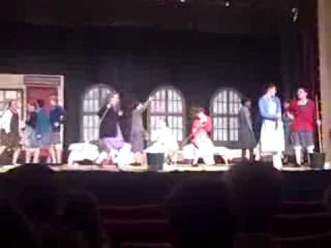 """Chichester Middle School's """"Annie""""- Hard Knock Life"""