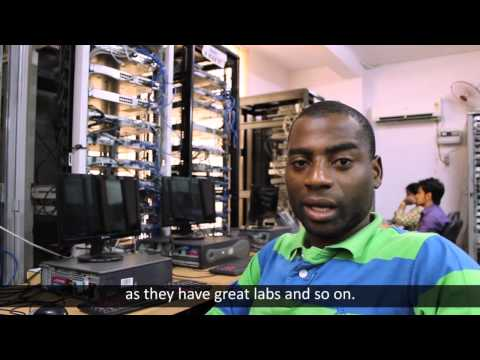 Mr. Jesus from Angola after CCNA R&S and CCNP R&S Course Training