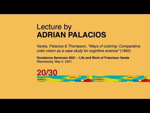 Life and Work of Francisco Varela: Adrian Palacios | Ouroboros Seminars 2021 | Varela 20/30