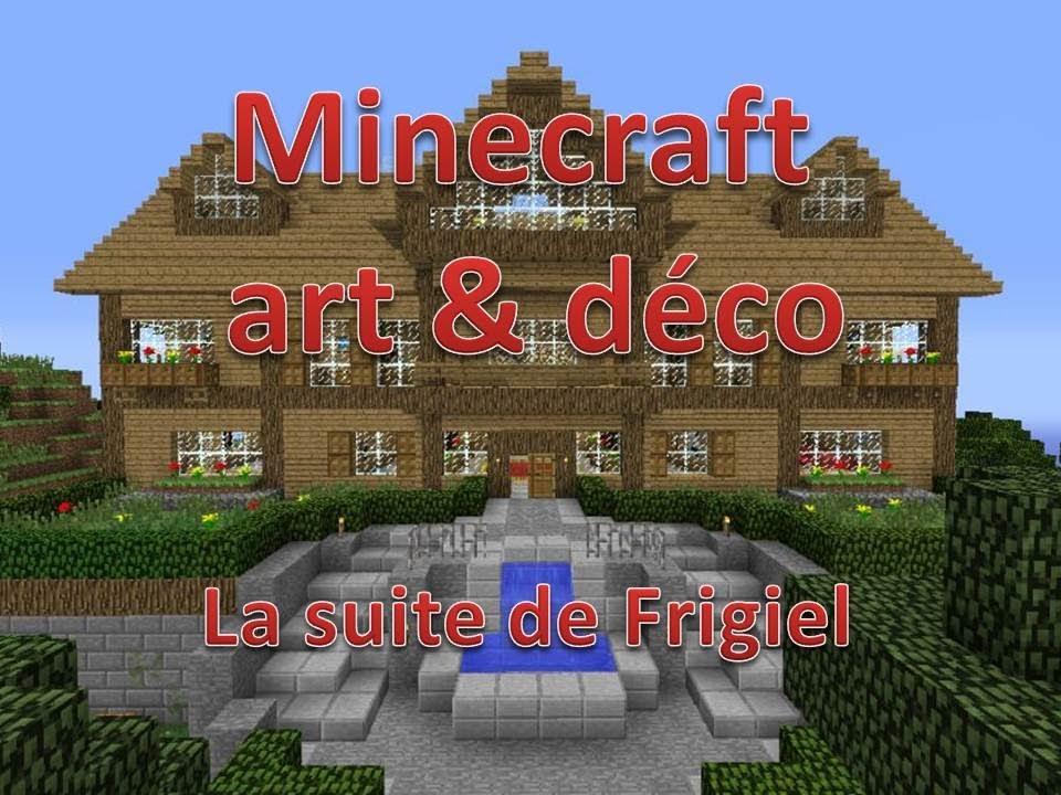 minecraft art & déco #5 le bateau - YouTube