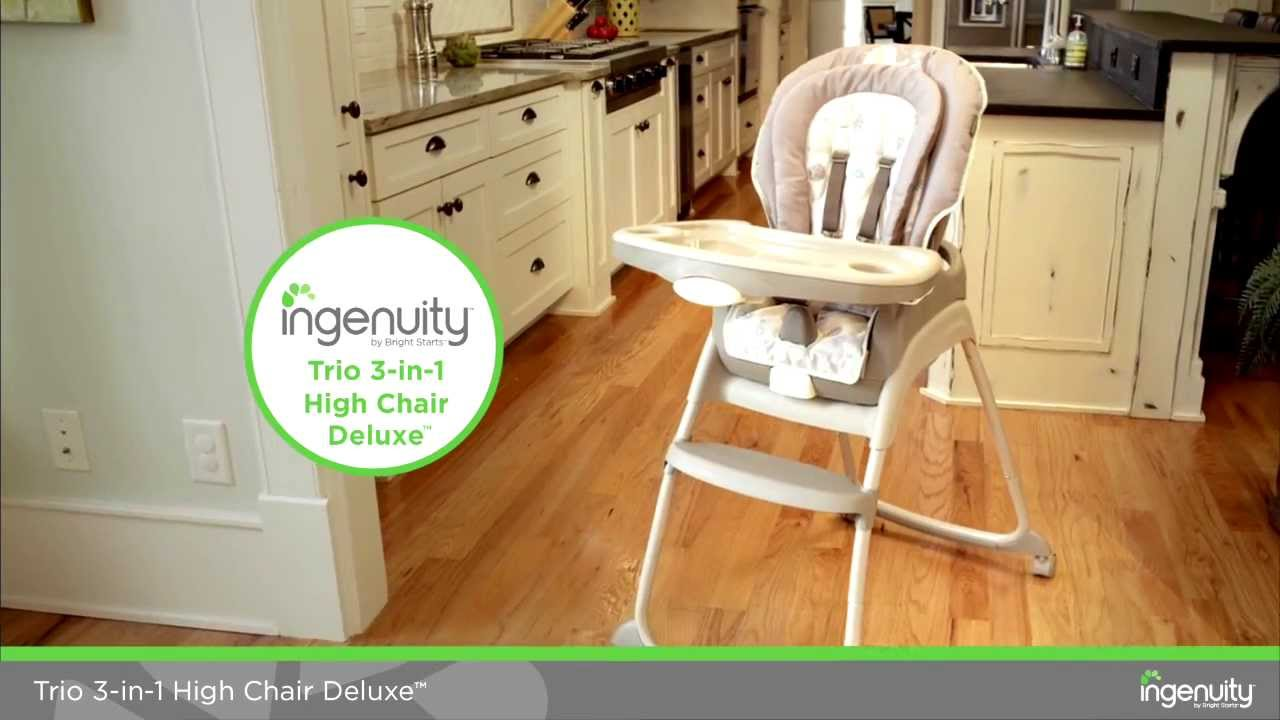 Get To Know The Features Of Trio 3 In 1 High Chair Deluxe Sahara Burst From Ingenuity