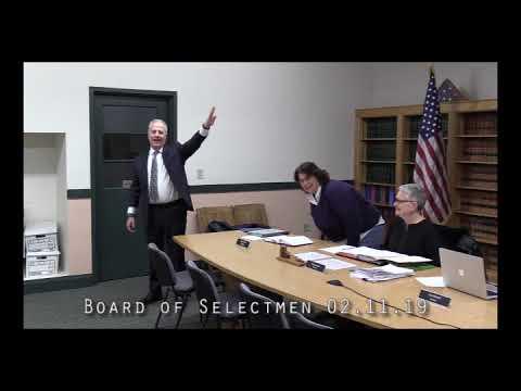 Board of Selectmen 02.11.19