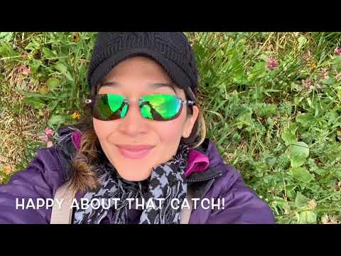 Dry Fly Fishing The James Peak Wilderness Colorado For Lake Trout And Cutthroat Trout, Sept 2019