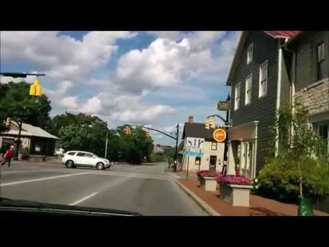 Driving around Dublin, Ohio (1080p HD)