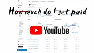 How much do I get paid from YouTube |  on 30+ videos in 1 year