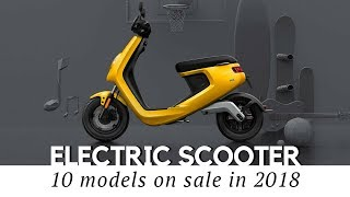 Top 10 Electric Scooters and Smart Mopeds (2018 Models and Prices Reviewed) thumbnail