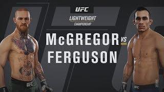 EA Sports UFC 3 - Conor McGregor v Tony Ferguson Gameplay [1080p HD]