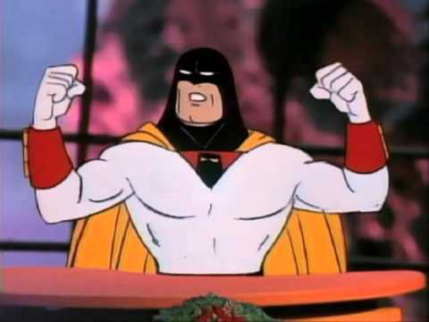 Space Ghost C2C Christmas - Up on the Housetop, Click ...