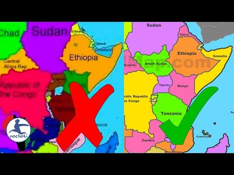 Somalia Completely Erased From Africa By Ethiopia
