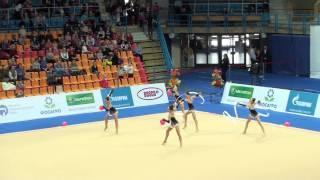Сборная Казахстана, мячи-ленты. Гран-При 2013