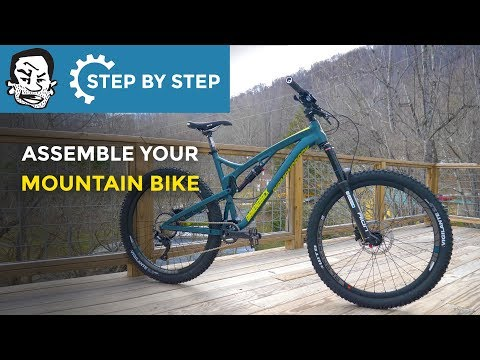 Assembling your new mountain bike with minimal tools