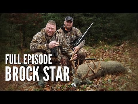 "Wisconsin Whitetail with Brock Lesnar - ""Brock Star"""