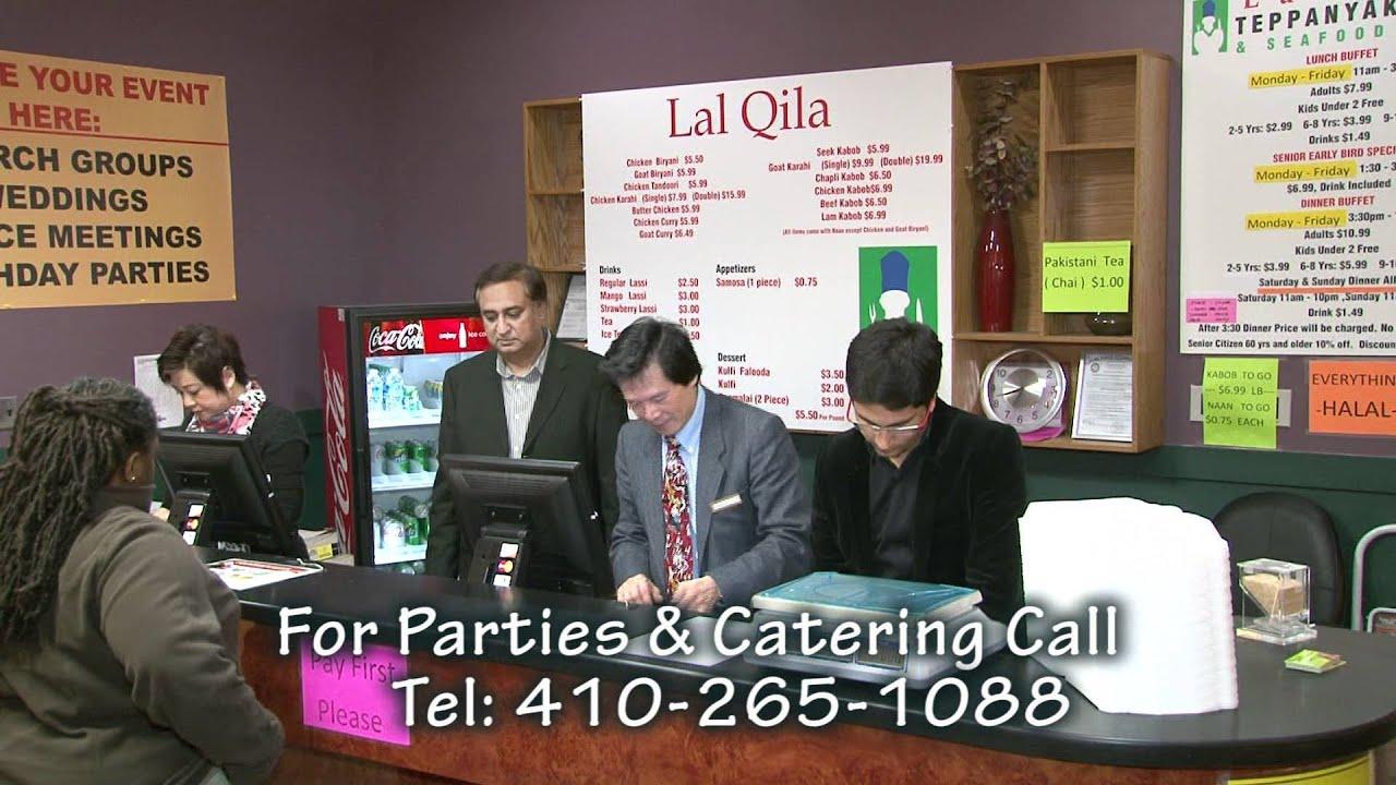 Lal Qila Restaurant In Maryland Youtube