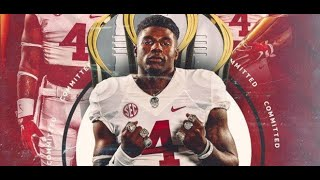 BREAKING: 4-Star RB Le'Veon Moss Commits To Alabama Football