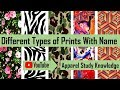 Different Types of Prints With Name