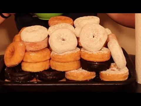 Massive Tower of Donuts! 10,000+ Calories!