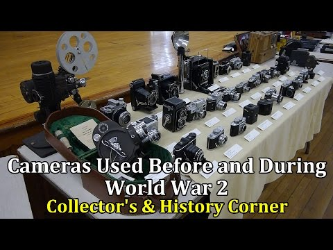 Cameras Used Before and During WW2 | Collector's and History Corner