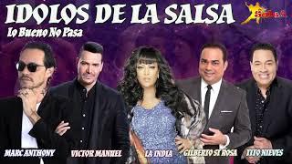 IDOLOS DE LA SALSA. SALSA ROMANTICA. VARIADO SALSA LATINA. LO BUENO NO PASA