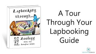 A Guided Tour through the Sassafras Science Lapbooking Guide