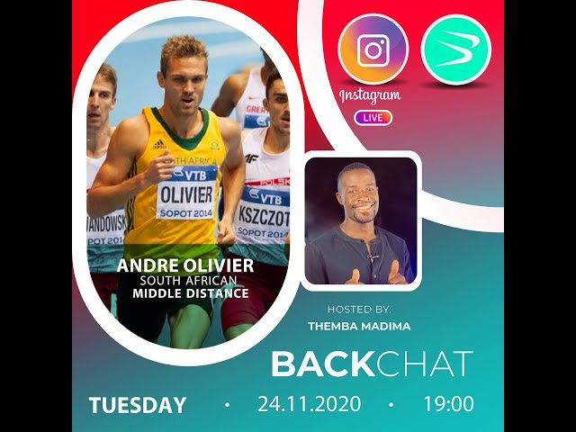 BackChat ep82 with Andre Olivier
