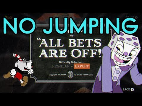 Cuphead No Jump Challenge: All Bets Are Off!