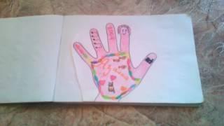 Мой Альбом для рисования в 5 классе⁉👏