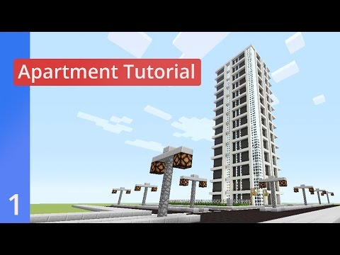 Modern Apartment Tutorial #1 Minecraft Xbox 360/PS3/Xbox One/PS4/PE/PC/Wii U