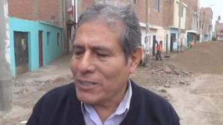 Se iniciaron los trabajos en la Calle Federico Villarreal en Hualmay