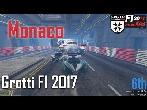 Grotti F1 2017 - Race 4: Monaco | GTA V Racing