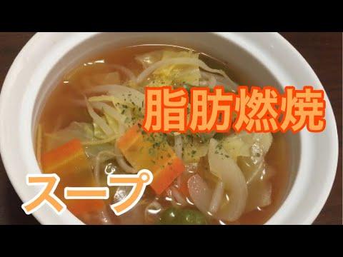 ヘルシー脂肪燃焼スープ