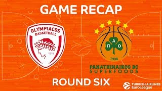 Highlights: Olympiacos Piraeus - Panathinaikos Superfoods Athens
