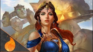 ARGUS DOESN'T LIKE TO LISTEN... - Smite Hera Solo Gameplay