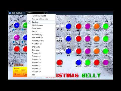 Free VST - Christmas Belly Synth - vstplanet com - YouTube