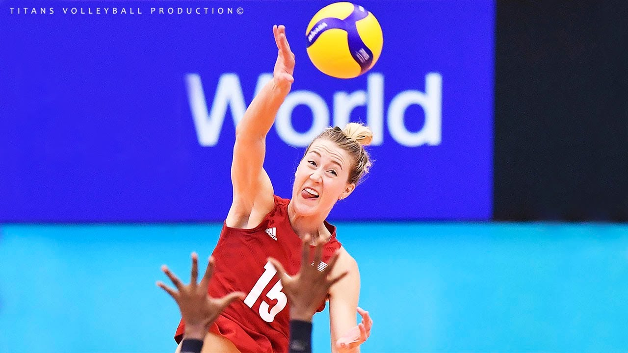 Kimberly Hill - Best Volleyball Spikes 2019-2020 | Women's Volleyball