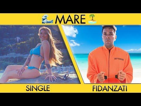 SINGLE VS FIDANZATI AL MARE - Parodia - iPantellas