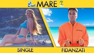 SINGLE VS FIDANZATI AL MARE - Parodia - iPantellas