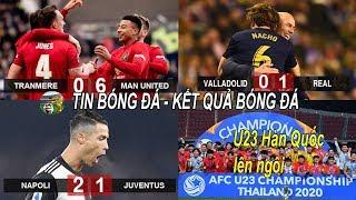 💥Tin bóng đá 27/1| M.U đè bẹp đối thủ hạng dưới, Ronaldo ghi bàn Juve vẫn thua cay đắng