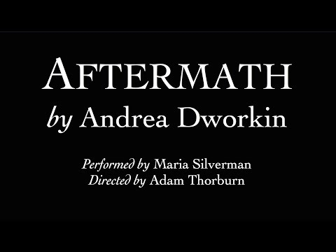 About Aftermath | Maria Silverman