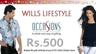 Get 500rs Gift Voucher Of Wills Lifestyle May 2017 (Proof Added)