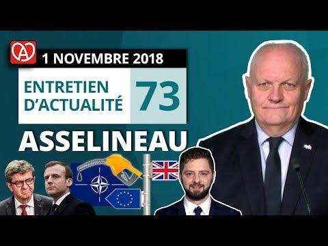 EA73 : Macron et les années 30 - Essence - Mélenchon - Alsace - Brexit - OTAN - Université