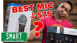 Best Podcast Microphone 🎤 (Under $75 + USB)