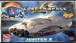 How to Build the Lost In Space Jupiter 2 AMT Model Kit #8459 Review