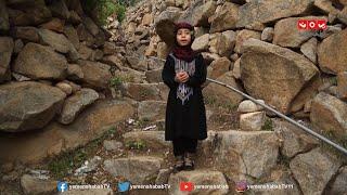 طفلة صبرية تتغنى بحب اليمن