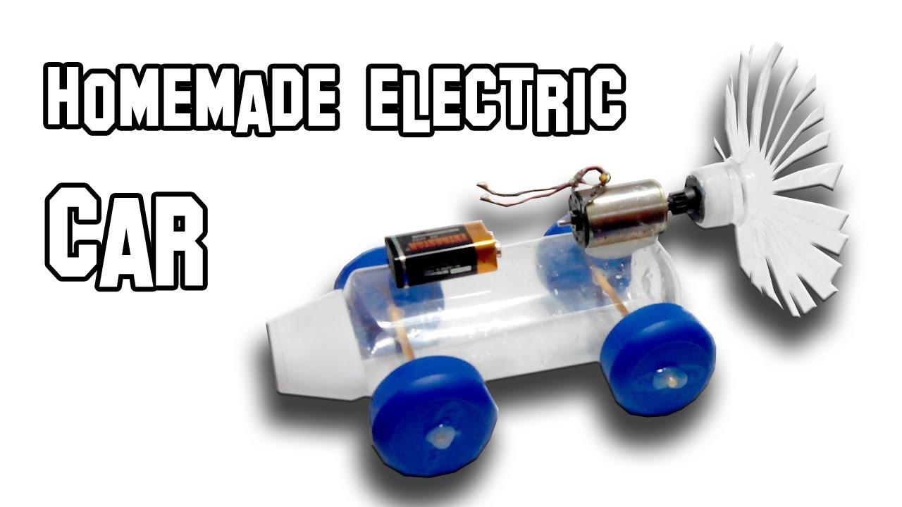 How to make a electric car youtube for Simple electric motor science project