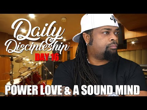 Daily Discipleship Day 16 | No More Spirit of Fear | The Prophet X