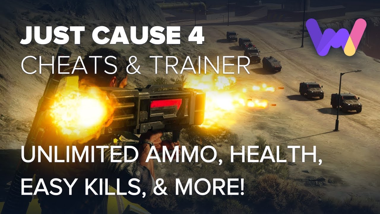 Just Cause 4 Trainer +14 Cheats (Unlim Health, Ammo, Easy Kills