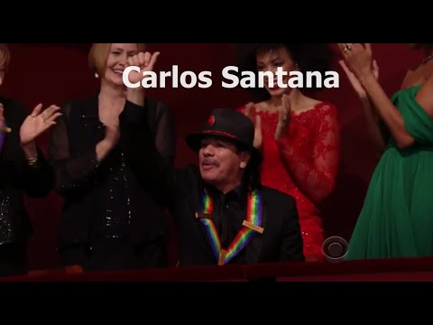 Carlos Santana Kennedy Center Honors 2013 Complete [Full Clip]