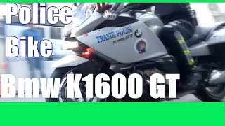 Bmw K1600 GT   Turkish Police Bike ! Police VS Moto Police chase bikes