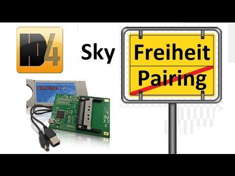 Sky Q Receiver Karte Einsetzen.Video Pairing Von Sky Karten Aufheben Alphacrypt Mit One4all